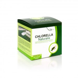 zelené superpotraviny chlorella naturalis